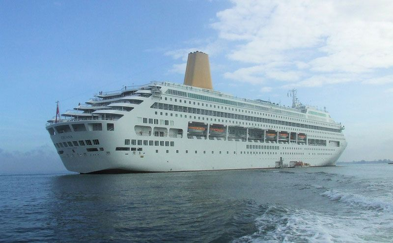 P&O Oriana Helped Back To Port After Onboard Fire. http://ow.ly/LOemp