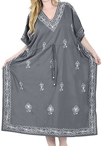 885de426745 Women Embroidered Swimwear Beach Dress Dress Designer Grey Plain US 14 30W  >>> Want to know more, click on the image. #MaternityTights