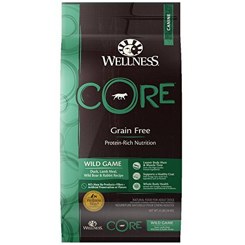 Wellness Core Wild Game Dry Dog Food 22pound Bag You Can Get