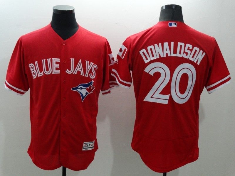 2016 MLB FLEXBASE Toronto Blue Jays 20 Donaldson Red