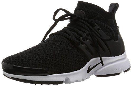 new product 90039 38b71 Nike Womens Air Presto Flyknit Ultra BlackBlack Running Shoe 65 Women US      See