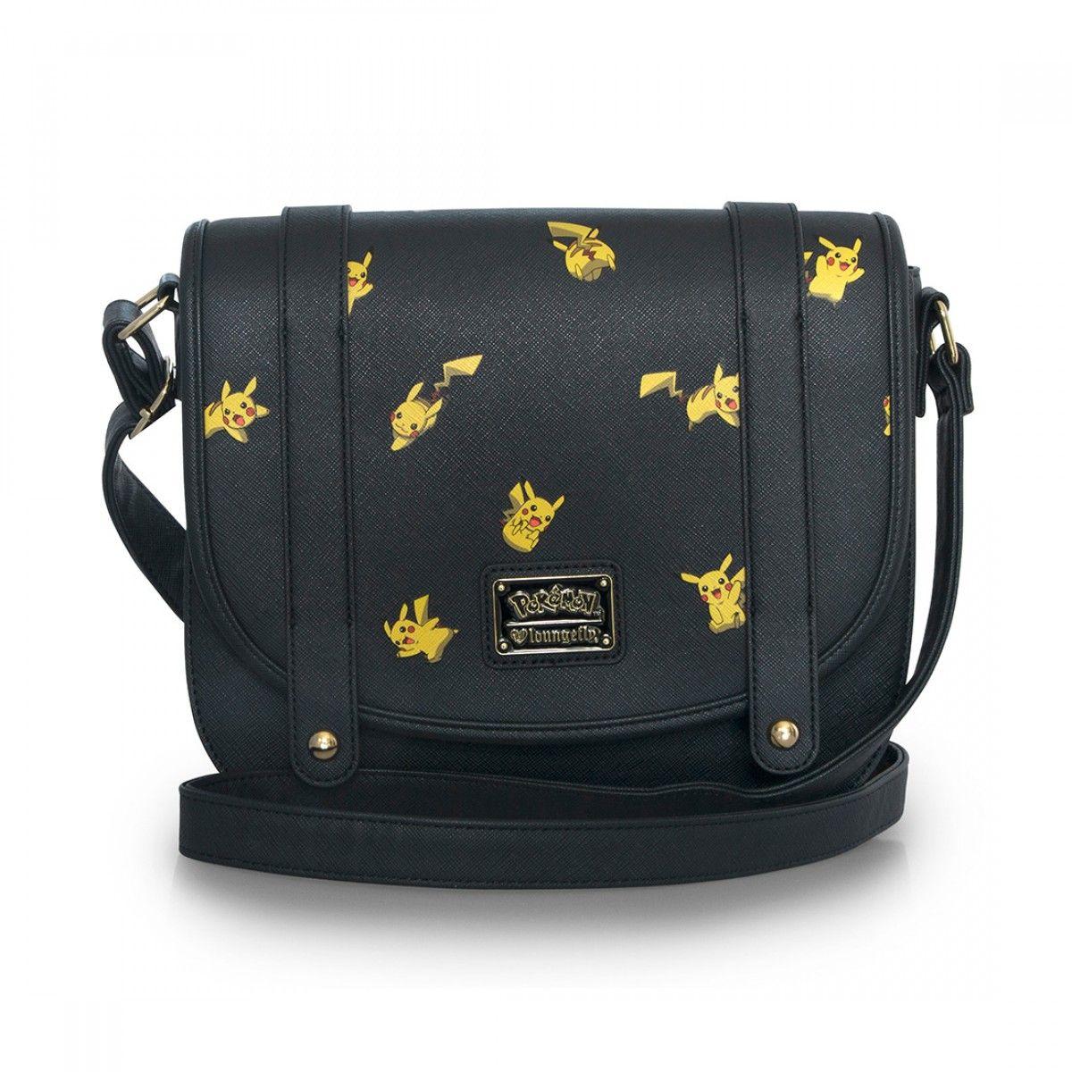 2c67b43e5 Loungefly x Pokémon Pikachu Print Crossbody Bag - Pokemon - Brands ...