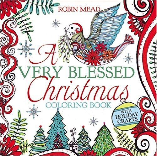Stunning Christmas Coloring Book For Adults! US Giveaway (October 2016) at Create With Joy!