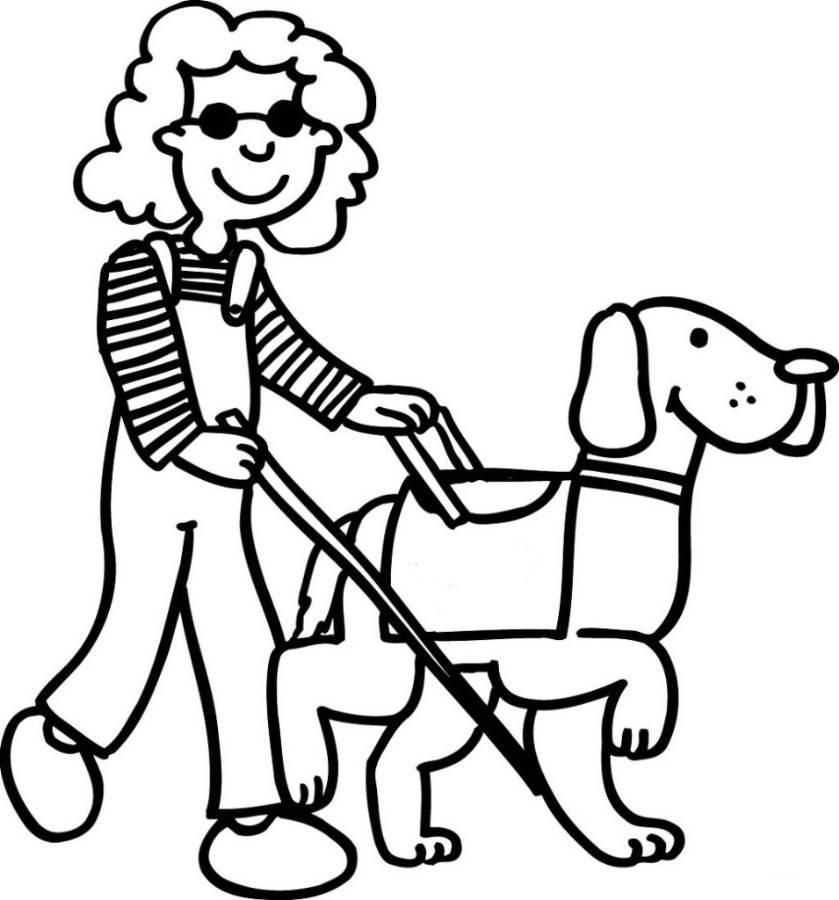Dog Coloring Pages Painting House