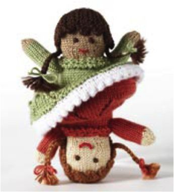 Free Knitting Pattern Topsy Turvy Doll Very Simple Free Knitting