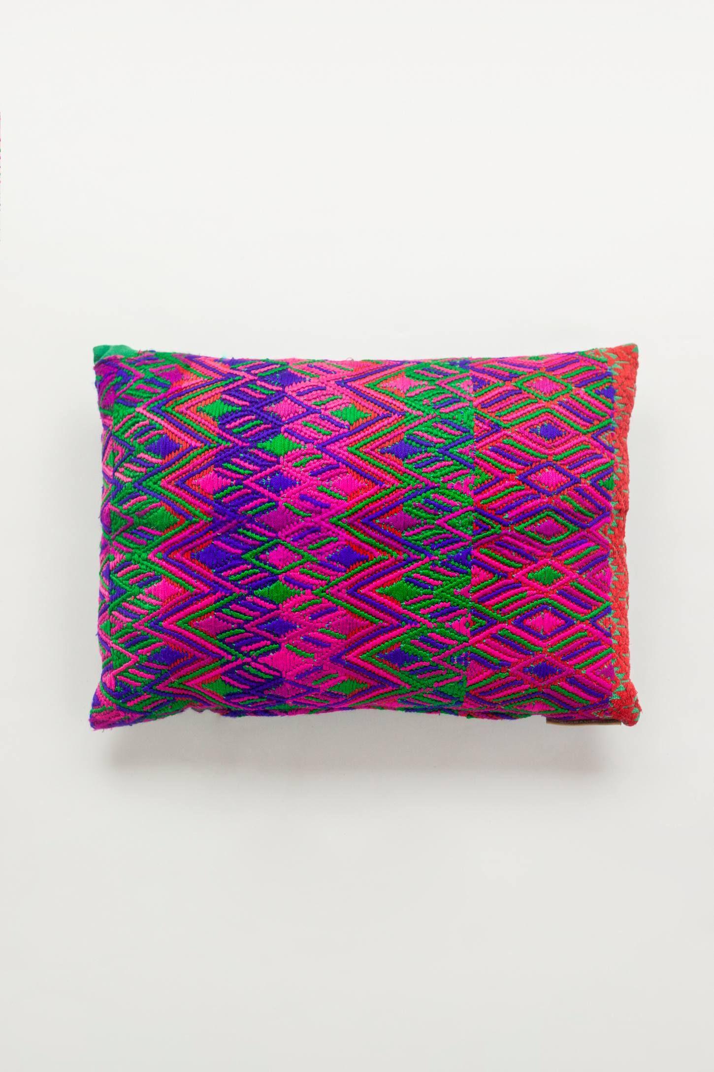 The Global Trunk Mayan Heirloom Pillow Mas Gsu Trunks Pillows