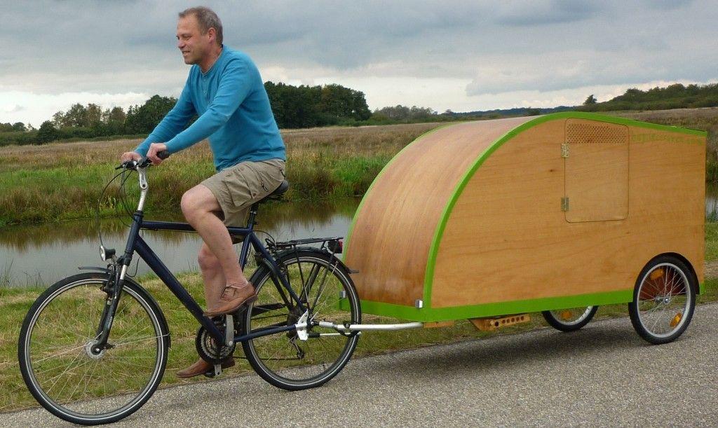 Bicycle Camper Fahrrad Wohnwagen Fahrrad Fahrrad Fahren