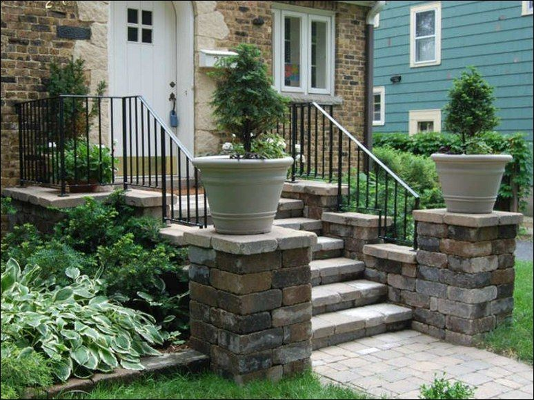 find this pin and more on ideas for patio pathway - Patio Steps Design