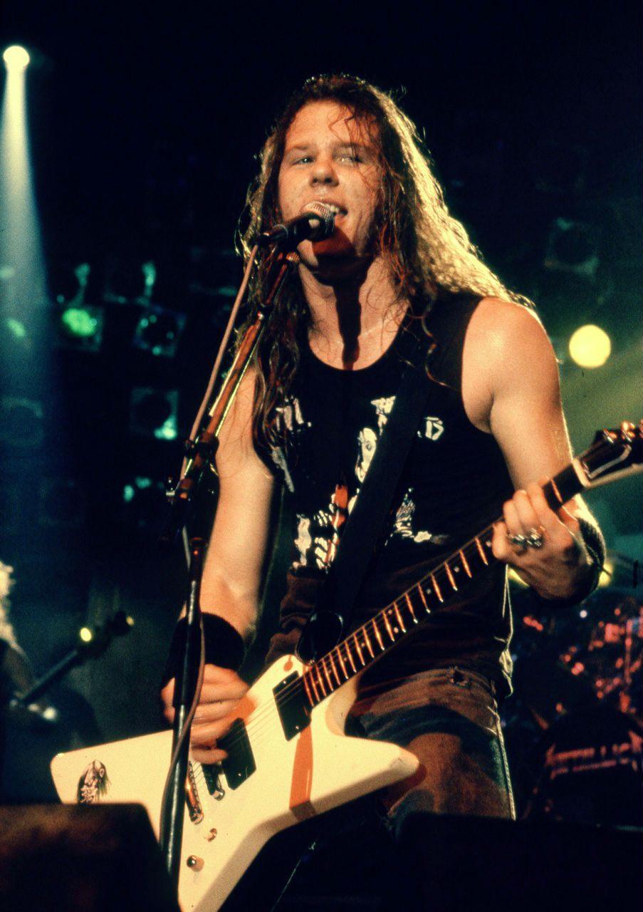 James Hetfield Photo James James Hetfield James Metallica James Hetfield Young