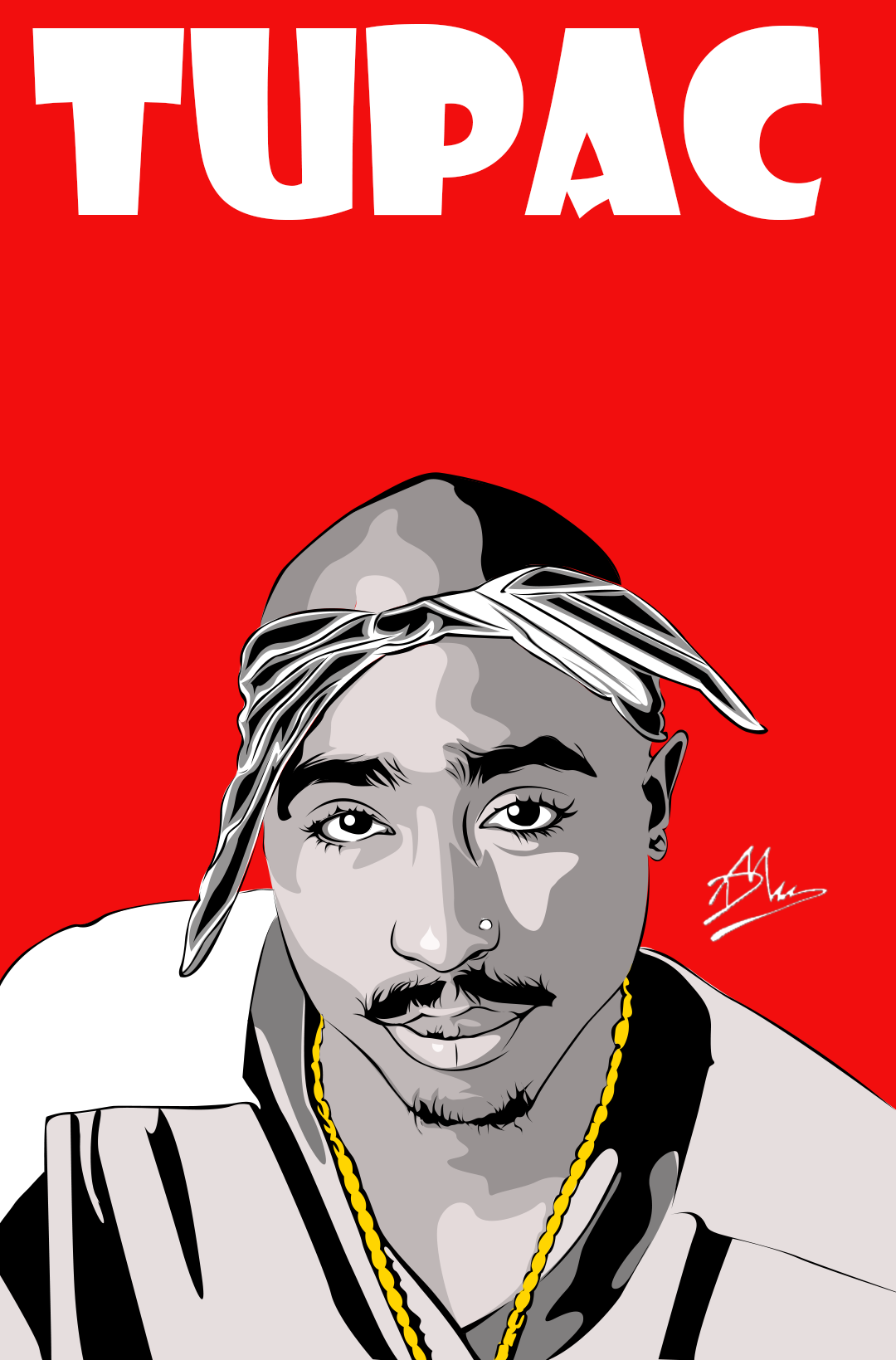 Tupac Thuglife Mama Vectorart Illustration Life Rapper Art Tupac Art Hip Hop Artwork