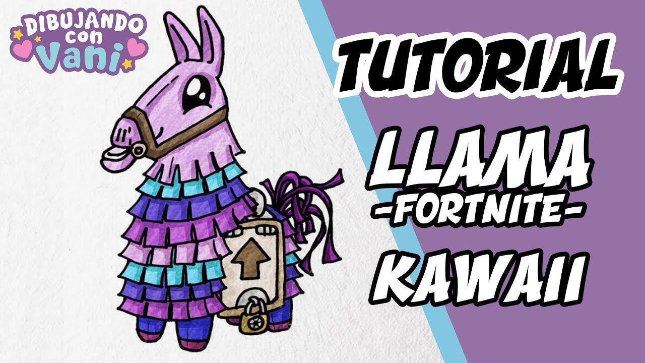 Como Dibujar Llama Fortnite Kawaii Para Ninos Dibujos Anime Faciles Como Dibujar Kawaii Como Dibujar Kawaii