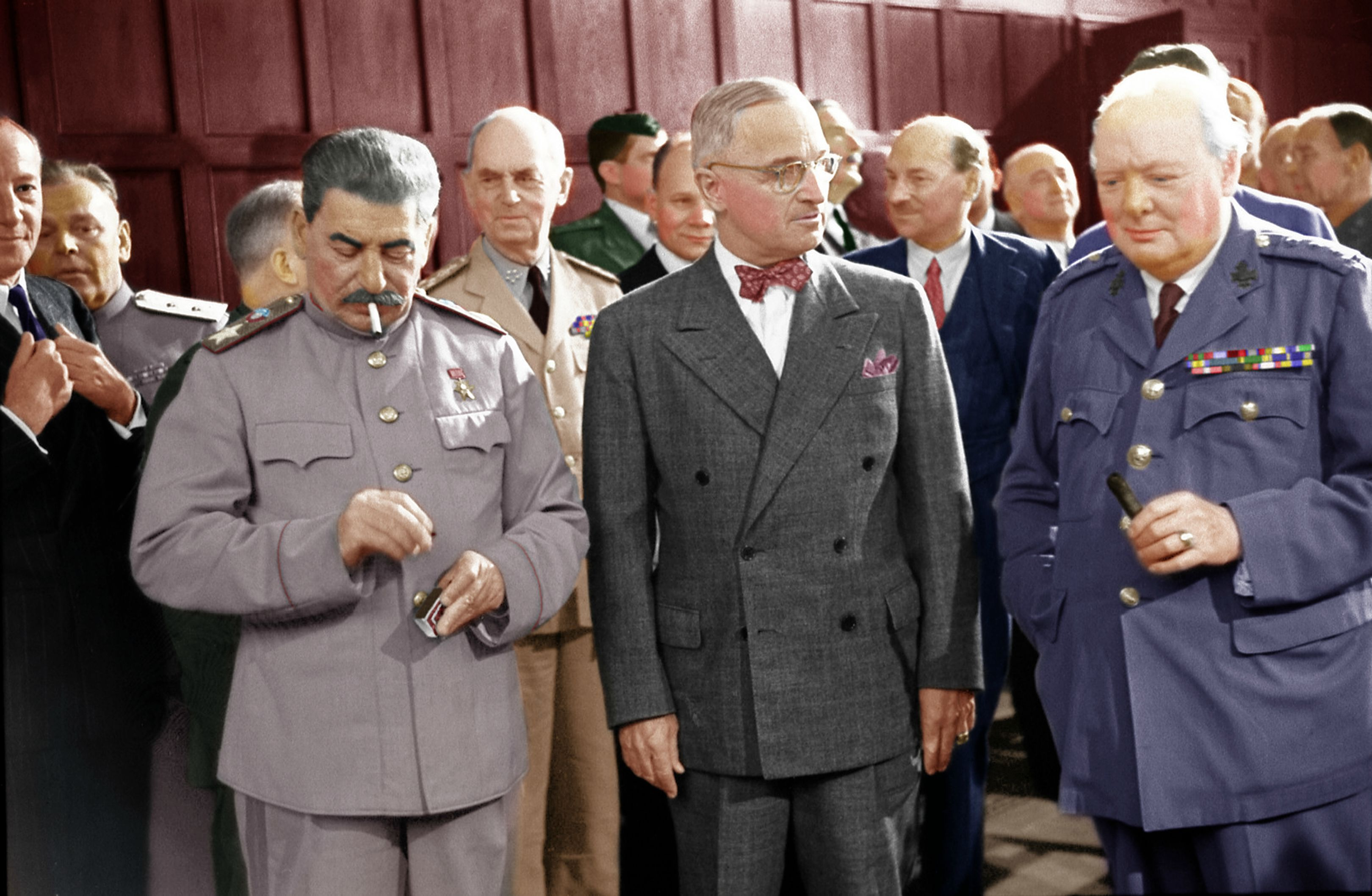 potsdam conference The leaders of the victorious countries met once more at potsdam in july, 1945  franklin d roosevelt, who had died in april, 1945, had been replaced by the.