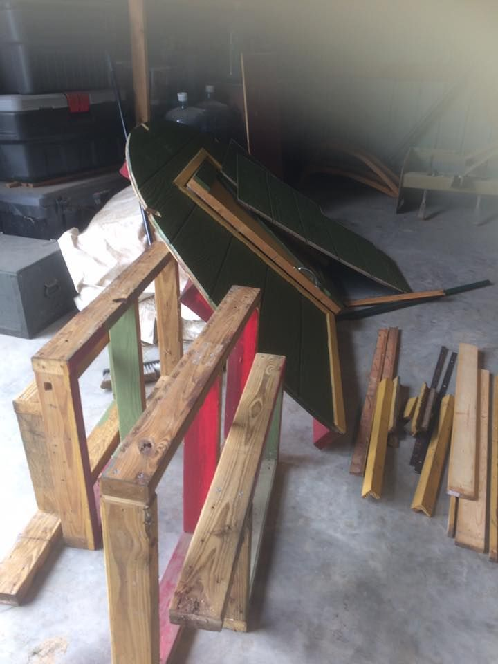 Gonna use as much of the old wood as possible