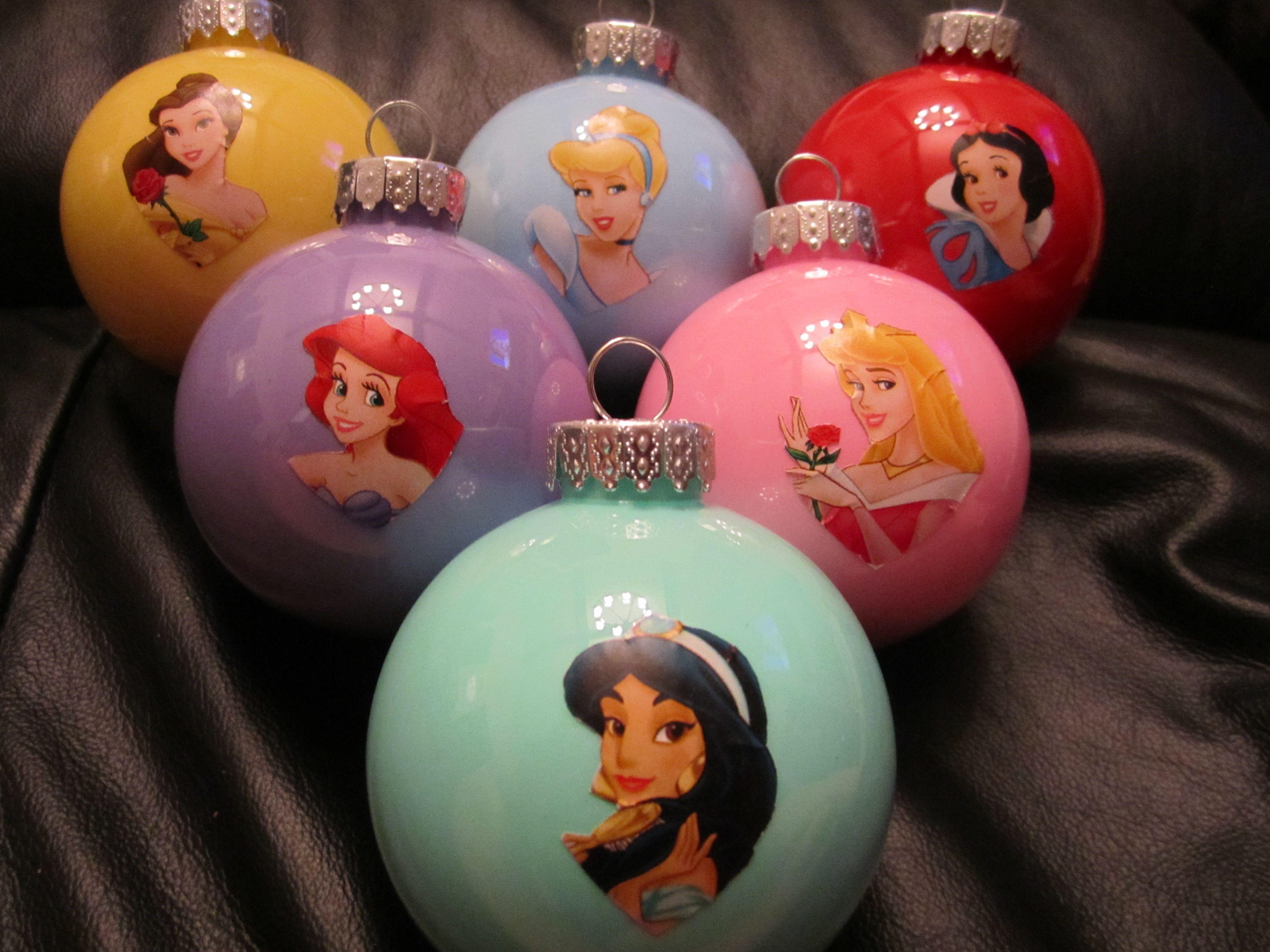 My Take On The Superhero Ornaments Disney Princesses )