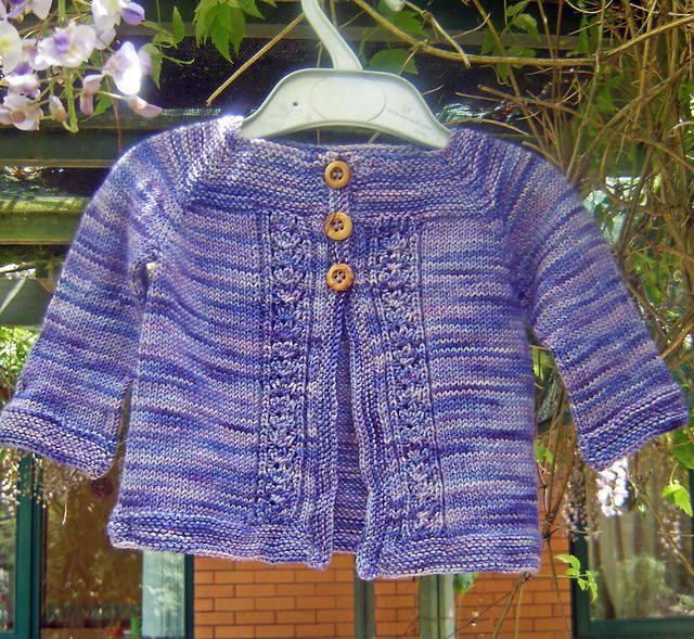 049223af6bcc Cabled Heart Baby Cardigan pattern by Erika Flory