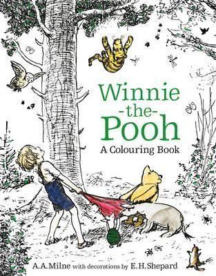 Winnie The Pooh A Colouring Book