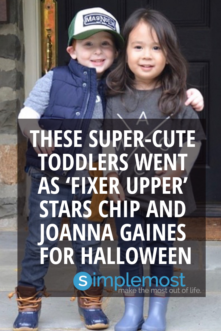 These Super-Cute Toddlers Went As 'Fixer Upper' Stars Chip And Joanna Gaines For Halloween #chipandjoannagainescostume These Super-Cute Toddlers Went As 'Fixer Upper' Stars Chip And Joanna Gaines For Halloween... #toddlers #cute #celebrities #celebs #halloween #kids #babies #children #awesome #chipandjoannagainescostume