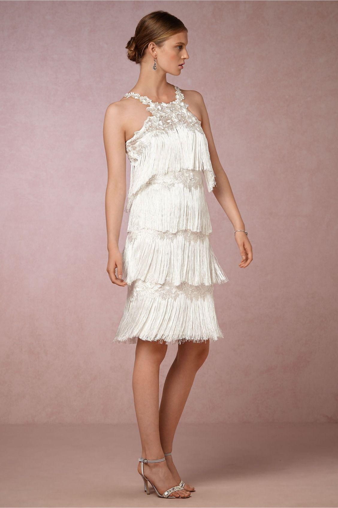 Fringe For The Modern Bride Saxa Dress From Bhldn New Wedding Dresses Wedding Guest Dress Rehearsal Dinner Dresses [ 1694 x 1128 Pixel ]