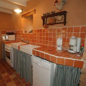 carreaux maill s naturels orange nuanc cr dence de. Black Bedroom Furniture Sets. Home Design Ideas
