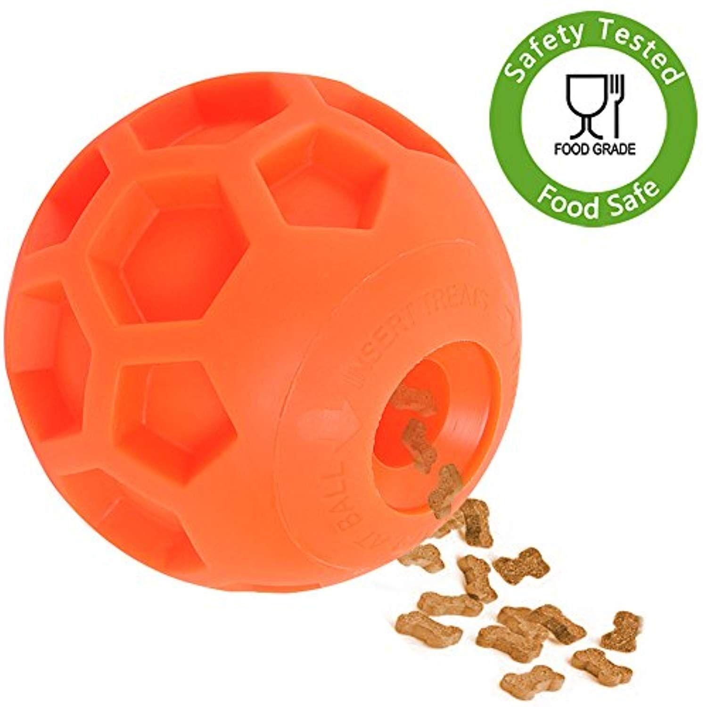 Hipat Dog Treat Ball Fun Interactive Dog Food Dispenser Toy Pet