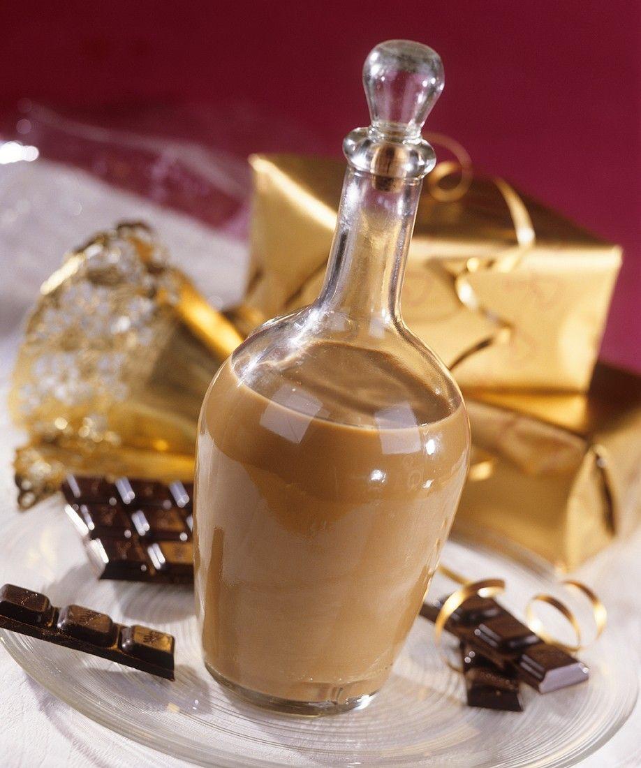 schokoladiger lik r rezept geschenke aus der k che pinterest lik r getr nke und. Black Bedroom Furniture Sets. Home Design Ideas