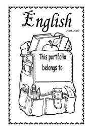 english portfolio covers - Buscar con Google   ideas ...