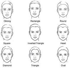 15 Tips And Tricks On How To Flatter Your Face Shape With Images Face Shapes
