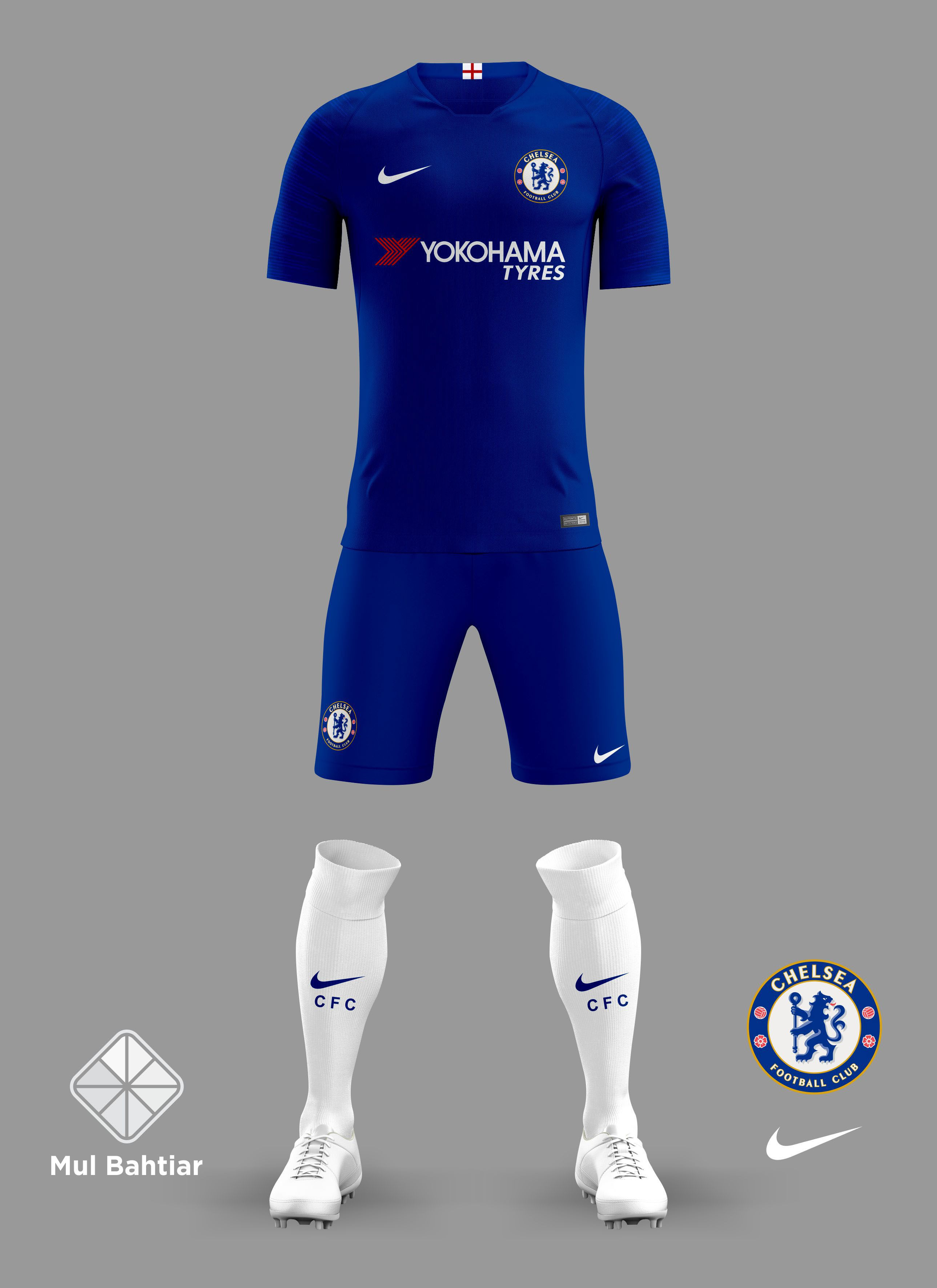 """Check out my Behance project """"Chelsea 2018/2019 Kits"""
