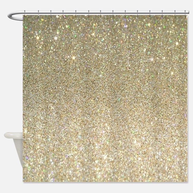 Black And Gold Shower Curtain Gold Glitter Shower Curtains