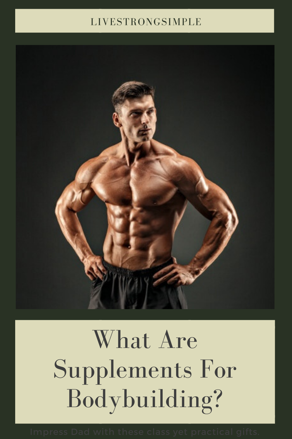The very first thing you will need to learn about supplements for bodybuilding is they are designed to help you build muscle, but they're not designed to make you stronger.  Many men and women think there are no supplements for bodybuilding, but the fact is that you can really use many different supplements that will help you with your goals.   #Bodybuilding #fitness #Supplements