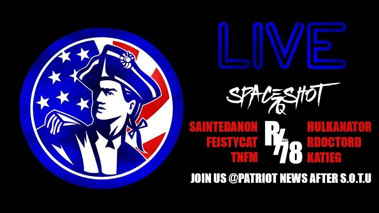 Patriot News Hosts State Of The Union After Party State Of The Union Patriots News Freedom Of Speech
