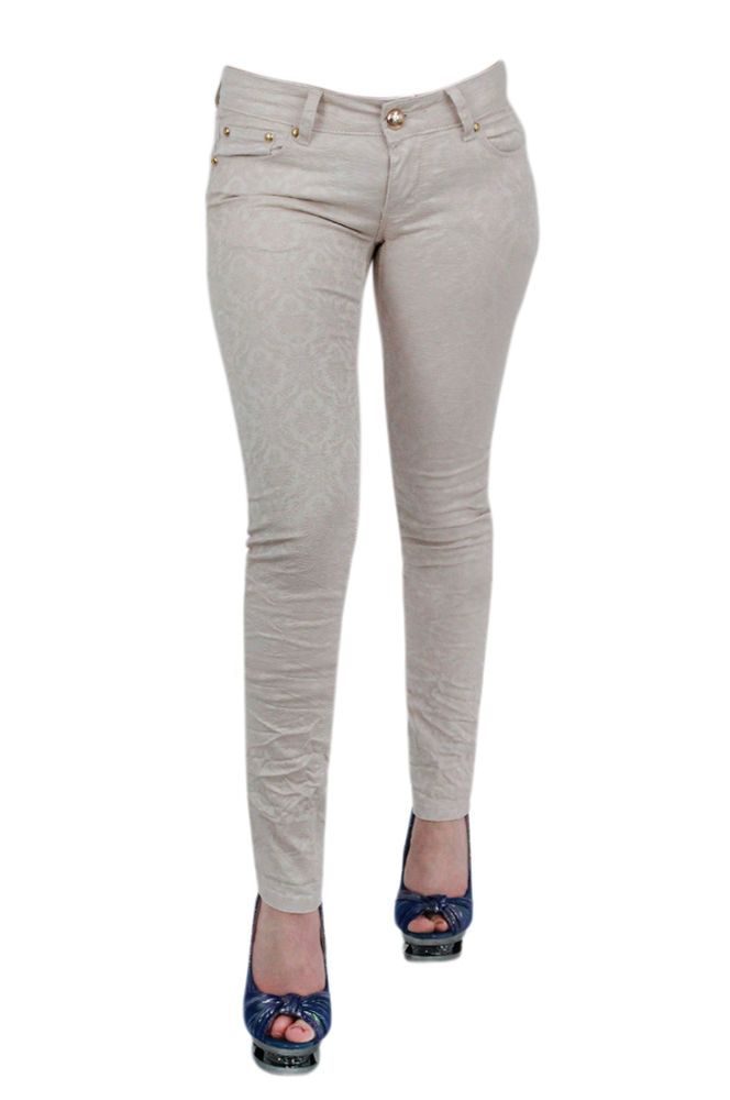 69b62e4f5a5c2 NEW LADIES SKINNY FIT COLOURED STRETCHY JEANS WOMENS JEGGINGS TROUSERS SIZE  6-16