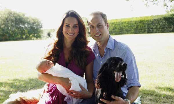 Battesimo del Principe George: chi saranno i padrini del figlio di William e Kate? | BimboChic