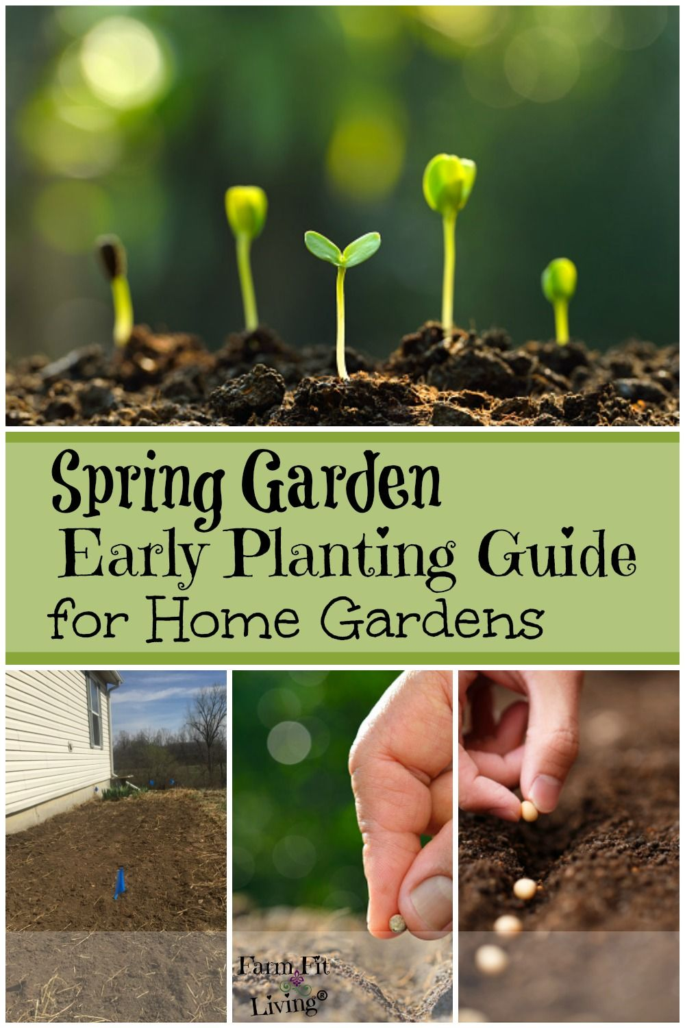 Spring Garden Early Planting Guide For Home Gardens Spring