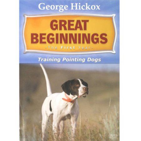 Dt Great Beginnings Training Pointing Dogs Dvd Dog Clicker
