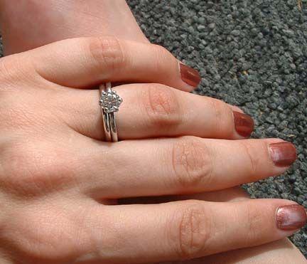 Plain Wedding Band Or Diamond