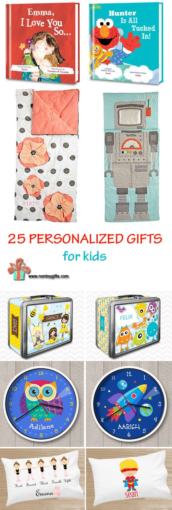 25 Personalized Gifts For Kids The List Includes Gift Ideas Of All Ages From Babies To Older Birthday