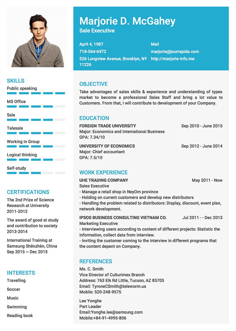Template Cv Pro 2 Sales Skills Cv Template Public Speaking