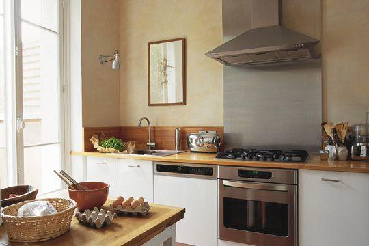 Conseil déco conseil achat cuisine + carrelage Kitchens and - couleur cuisine avec carrelage beige