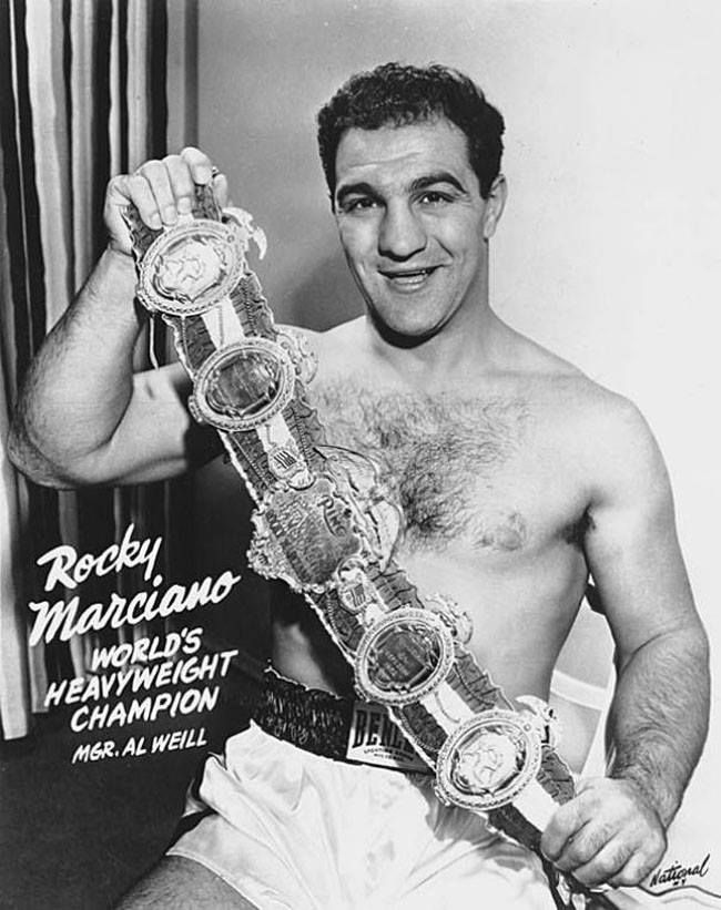 Rocky Marciano (Rocco Francis Marchegiano; Sep 1, 1923 – Aug 31, 1969), an…