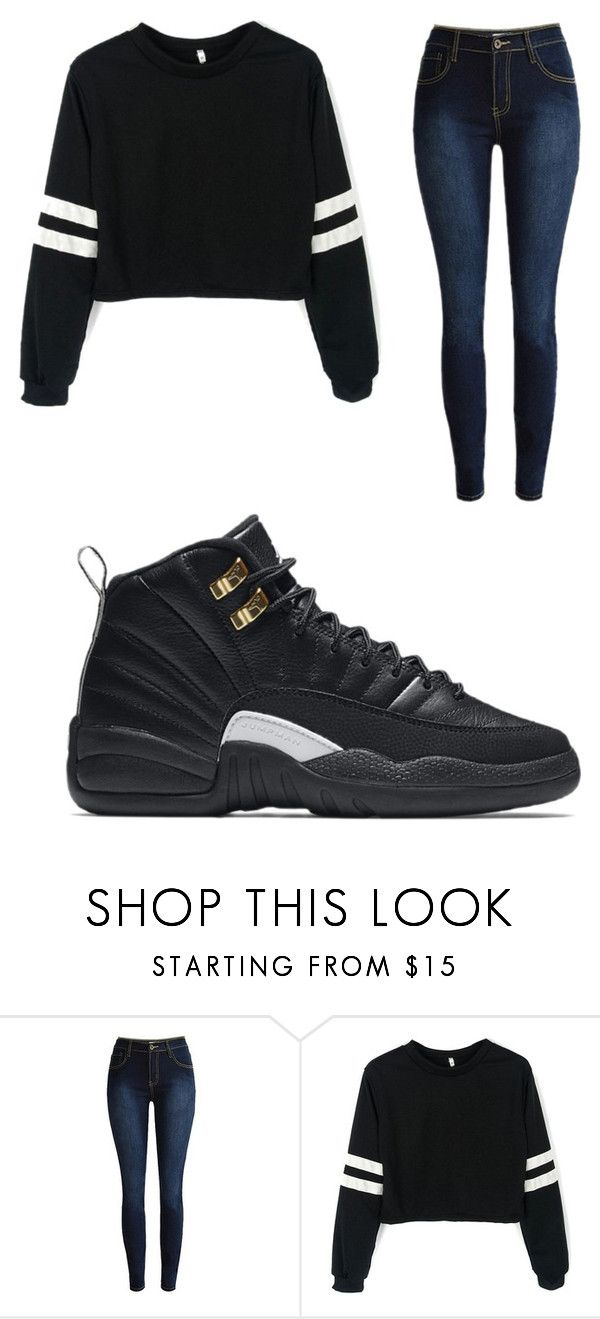 """""""Untitled #190"""" by prtty-gurl ❤ liked on Polyvore featuring NIKE"""