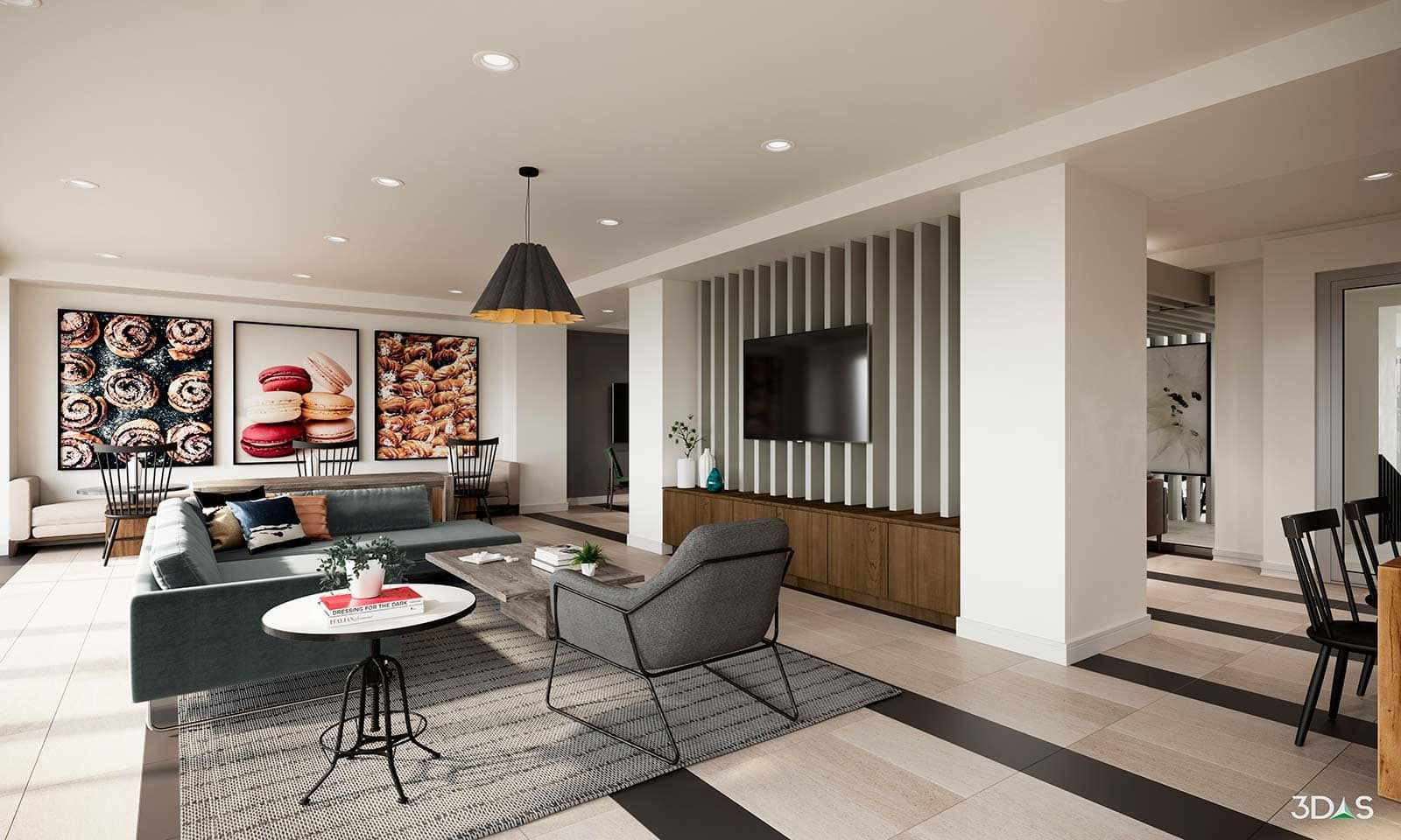 Clubroom With Partition Wall Partition Wall Home Decor Home