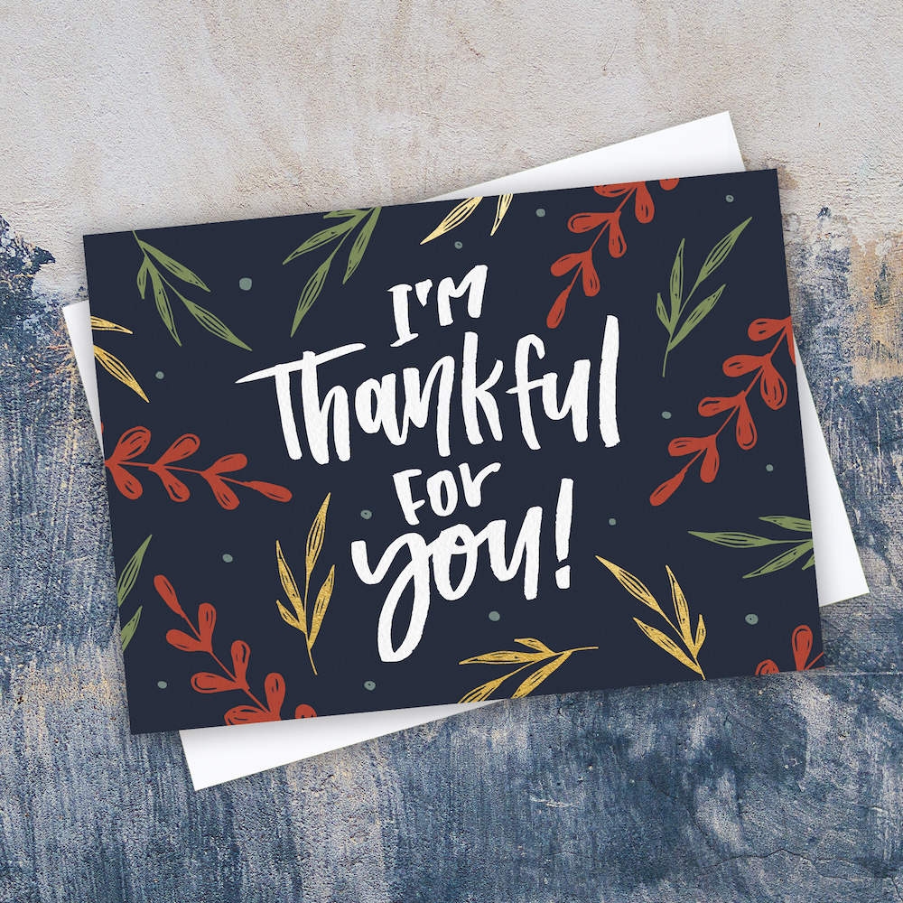 Gratitude Never Goes Out Of Style This Thankful Card Is In Our 2017