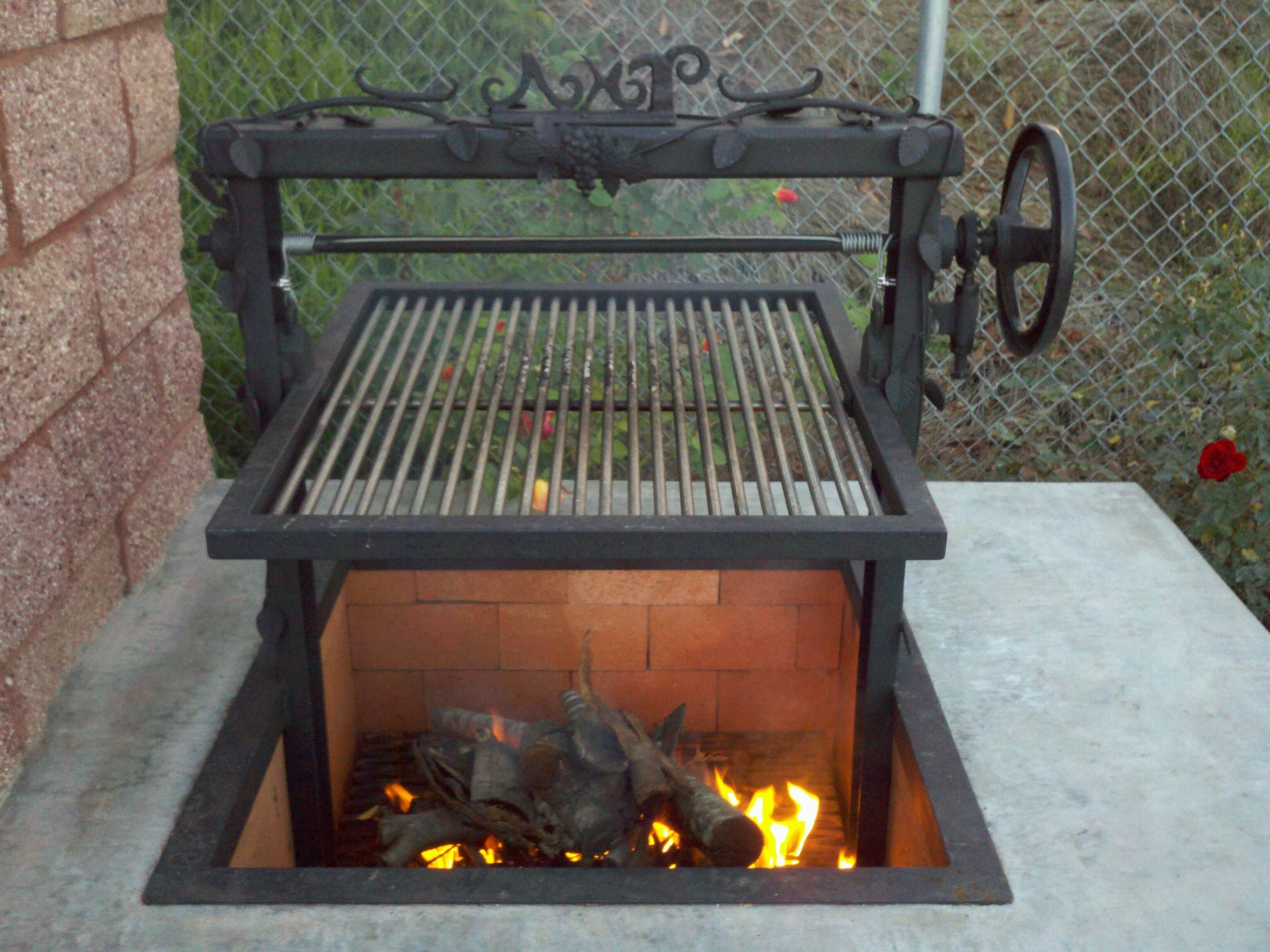 Diy Unique Outdoor Fireplaces Grill Log Furniture Pinterest