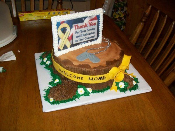 welcome home soldier cake party ideas pinterest cake cupcake