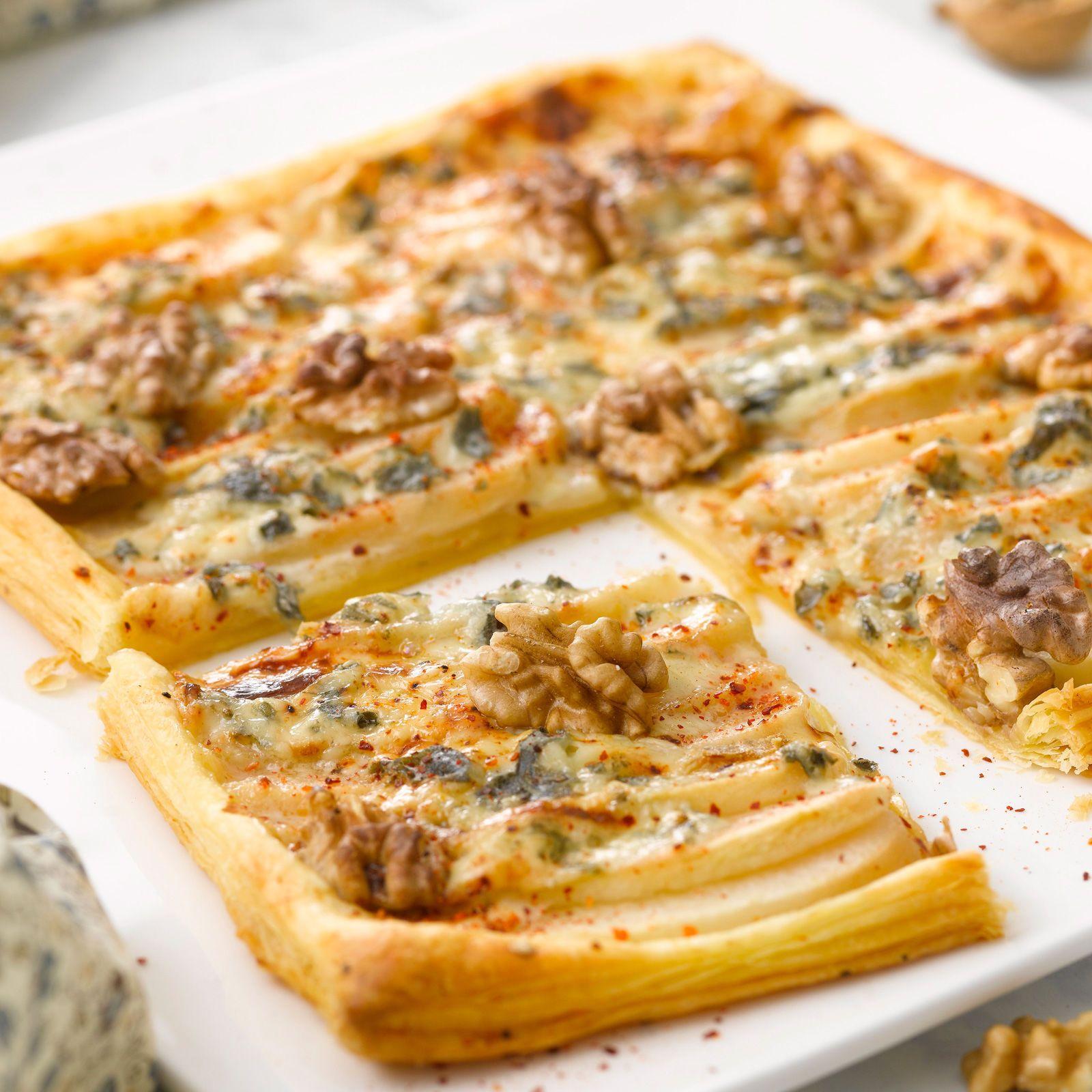 Tarte Poires Et Roquefort Recette Recette Tarte Poire Tarte - Cuisine actuelle fr
