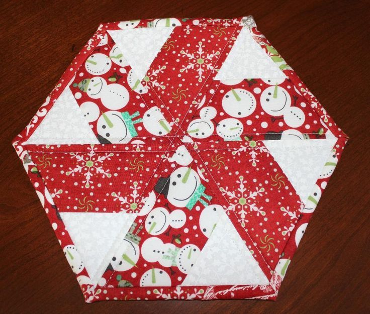 Christmas Tree Table Runner Quilt Pattern: Christmas Peppermint Table