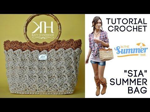 Tutorial Borsa Estiva Uncinetto Sia Punto Prada Crochet Summer