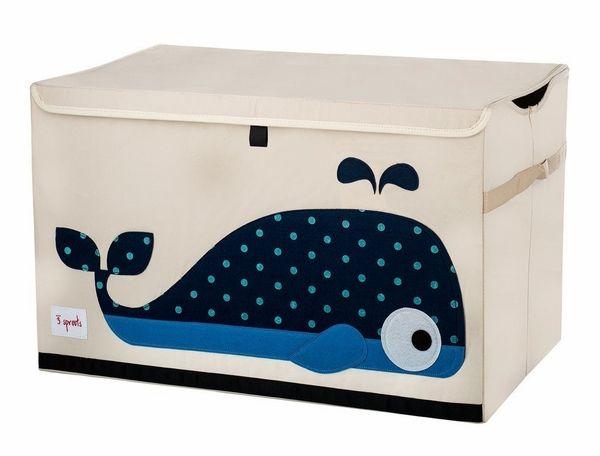 Whale Toy Chest | The Organizing Store #3Sprouts #organizedisthenewblack