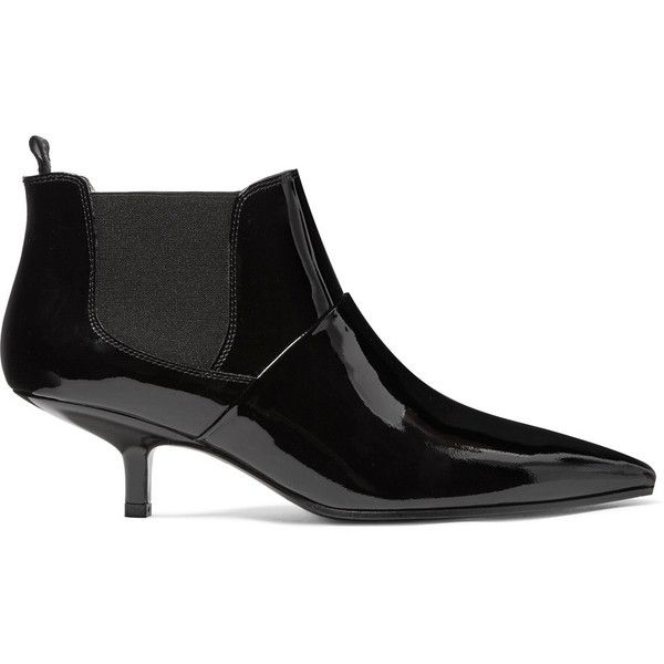 Footlocker Clearance New Kity Patent-leather Ankle Boots - Black Acne Studios Sale Pick A Best YMDVEh